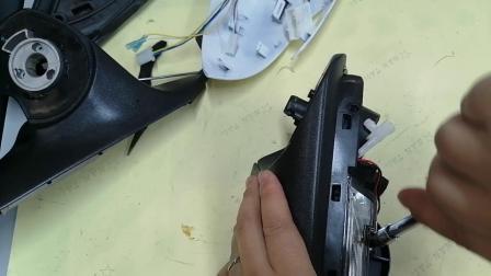【电动折叠】DDZD-132:逸动、逸动PLUS后视镜安装