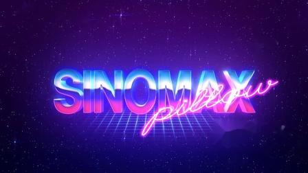 SINOMAX pillow 镀铬文字标题
