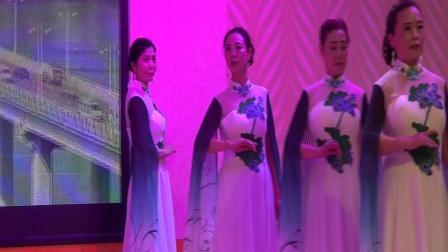 绵竹市老年大学时装队(旗袍舞秀《我们的中国梦》)我就是我2021.6.11.