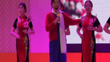 绵竹市老年大学时装队(旗袍表演秀《红梅赞》)我就是我,2021.6.11.