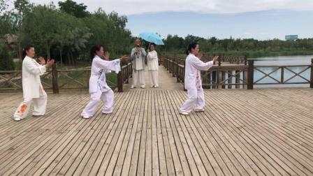 银川市武术协会神鹿太极辅导中心一期培训