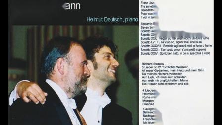 39岁尤纳斯.考夫曼 李斯特 ,理查.施特劳斯,本杰明.布里顿艺术歌曲独唱音乐会 2008年巴黎
