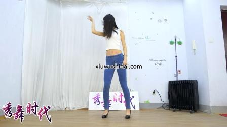秀舞时代 小敏 Body on Me 舞蹈 蓝色紧身牛仔裤热舞 3