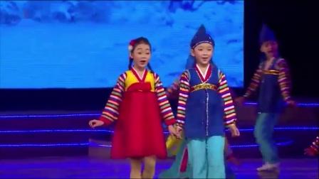朝鲜学生民俗歌舞:新年好(2021)