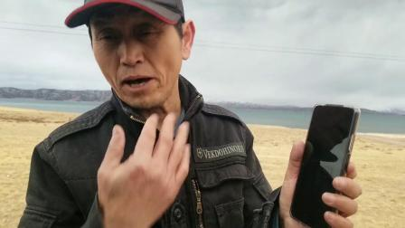 43_冬格措纳湖现场访问,退休职业摄影记者轻松话手机拍摄,亮相有趣