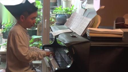 沈文裕演奏巴赫《赋格的艺术》对位曲11 庄严版