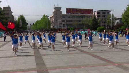 运城市老年人庆祝建党100周年体育节目线上展演  广场舞:高歌颂党 爱我中华