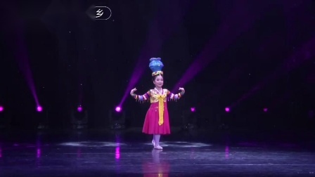 2019小舞蹈家二期少儿舞蹈比赛校园舞蹈表演全系列之顶水舞
