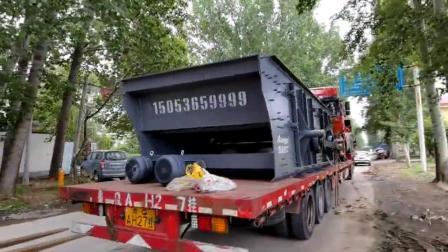 圆振动筛设备-振动筛分设备发往辽宁