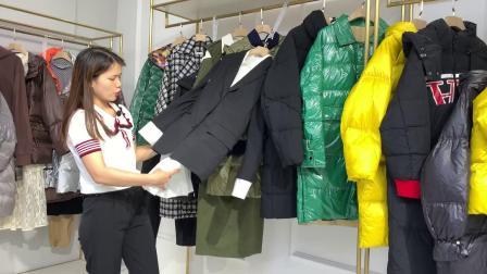 杭州维伊品牌秋冬装女装折扣混批走份