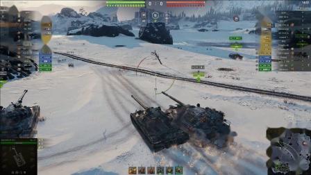 坦克世界 顶级选手-7与277真的有灵魂带队加翻盘