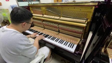 91年日本二手钢琴英国皇家榔头迪亚怕森125sk