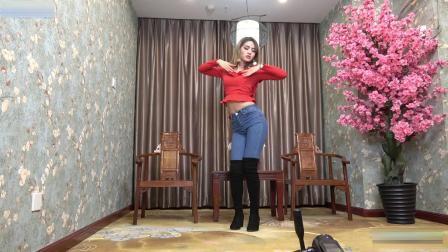 炫舞世家美女紧身裤牛仔裤性感热舞