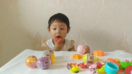娃娃奇趣蛋玩具奇趣蛋玩具视拆奇趣蛋小猪佩奇玩具奇趣蛋