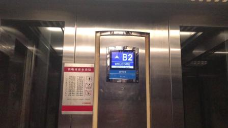 长沙万达广场1号观光电梯13