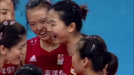 【猴姆独家】2021年世界女排联赛预赛第14轮#中国女排 波兰女排# 官方精彩集锦