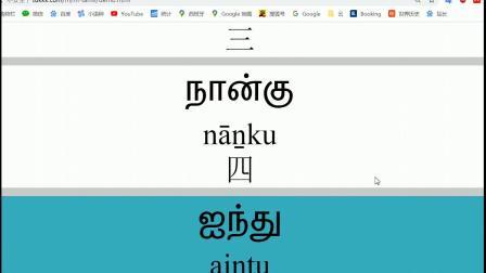 最快学习泰米尔语的网站