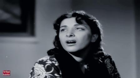 【黑白怀旧】宝莱坞老一辈女星 Nargis 50年代经典电影《书信》插曲 Aaja Re-Aah