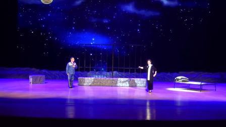 扬剧现代戏《相约在星空下》。天长市景鸿艺术团演出