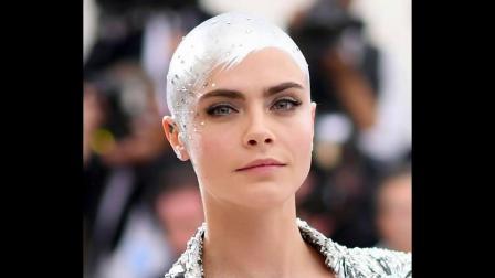 Bald Model