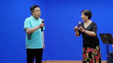 董磊、王瑞霞演唱京剧【白毛女★红头绳】