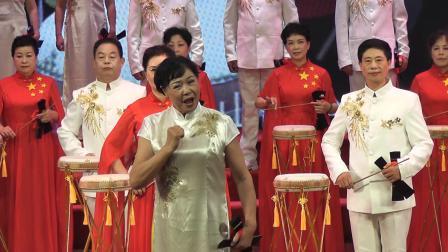 上饶老年大学表演鄱阳大鼓《唱支山歌给党听》2021,6,22