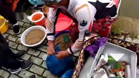 钓鱼比赛视频高清2021,鲫鱼混养打浮钓