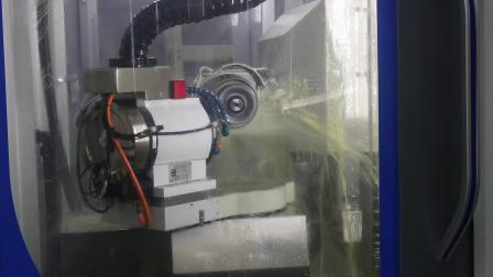 千岛智能QD680数控工具磨床加工直径6.0mm圆鼻刀