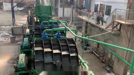 长石粉洗沙机-石英砂洗沙机-洗石粉设备在上海现场