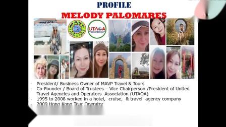 2021 买家采购专场 3: MAVP Travel & Tours / UTAOA, Philippines