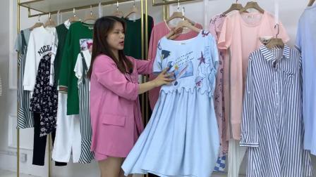 【迷你妈咪】孕妇装品牌女装折扣混批走份