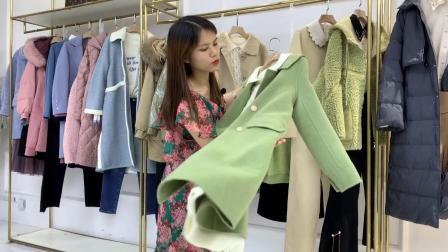 杭州香影品牌冬装女装折扣混批走份