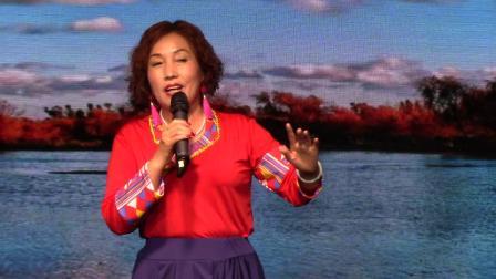 《我在纳林湖等着你》贾冬梅临汾市春之声合唱艺术团庆七一联欢会20210626