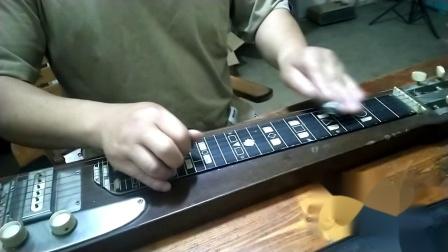 夏威夷钢棒吉他演奏:划船曲!
