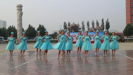 20210626庆七一汇演09我和我的祖国三步红月亮舞蹈队