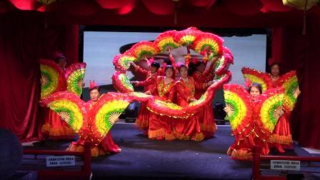舞蹈《太阳最红毛主席最亲》辛俊英等临汾市春之声合唱艺术团庆七一联欢会20210626