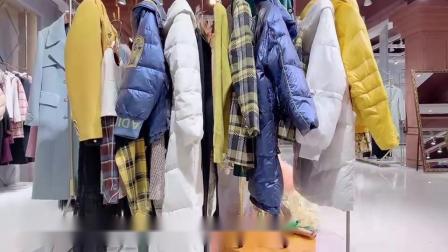知名服饰女装品牌羽沙国际冬批发,中唯女装圣格瑞拉毛衣货源,视频看货