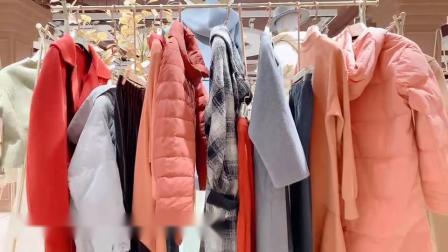 特价女装品牌帕佳妮冬,法尔莎欧女装名师路半裙走份,抖音视频看货