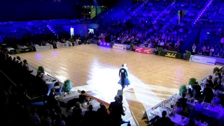 2019狐步舞 独舞】WDSF World Open Standard Vienna Final DanceSportTotal _20191227