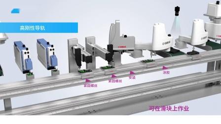 雅马哈线性传送模块  LCMR200 介绍