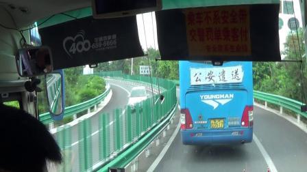 汽车前往玉林、梧州、广州方向