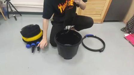 pfc鱼池过滤桶故障视频