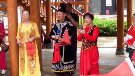 上集 贵阳黔灵公园新疆舞艺术团 庆祝建党100周年