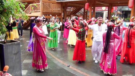下集 贵阳黔灵公园新疆舞艺术团 庆祝建党100周年