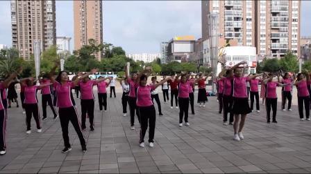2021曲靖开心如意舞队庆《七一》广场舞串烧