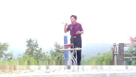 (解放军大战双峰山)魏四奇老师在嵩县双峰山上演唱