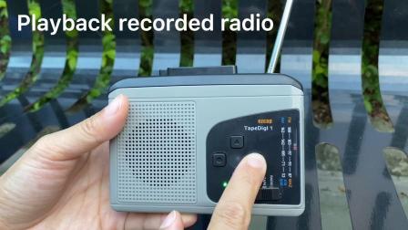 最新款随身听转换器-播放转换磁带收听收录电台录音内置扬声器