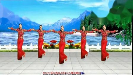 漓江飞舞广场舞《天生一对好鸳鸯》俏皮可爱秧歌风格舞蹈_clip(1)