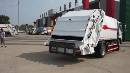 垃圾压缩车8吨位价位