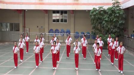 《少儿粤韵操》越秀区大南路小学演出   华哥007录制